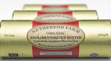 Netherend Farm Un-Salted Butter Organic 250g