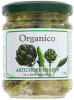 Organico Artichoke Hearts in Herb Marinade