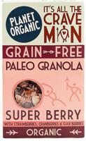 Planet Organic Grain Free Paleo Granola Super Berry