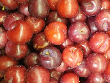 Plums ~ Organic ~ 500g