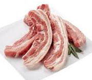 Pork Spare Ribs Organic Free-range 500g Approx