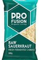 Profusion Fresh Raw Sauerkraut Organic
