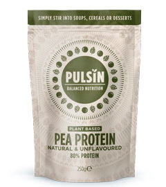Pulsin' Pea Protein Natural & Unflavoured 250g