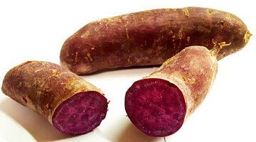 Potatoes Purple Sweet ~ Organic ~ 500g