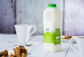 Riverford Unhomogenised Semi-Skimmed Milk Organic 1lt