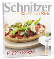 Schnitzer Gluten Free Pizza Bases Organic
