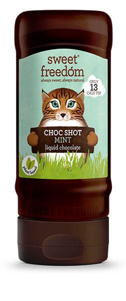 Sweet Freedom Choc Shot Mint Liquid Chocolate