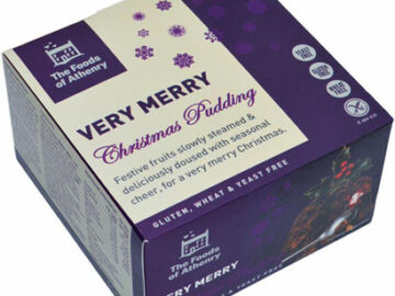 The Foods Of Athenry Very Merry Christmas Pudding 400g Gluten Free