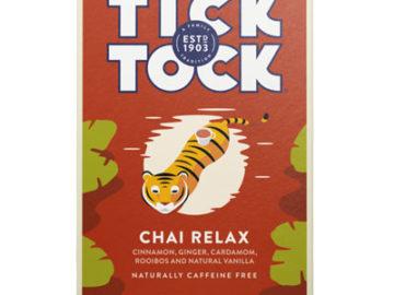 Tick Tock Vanilla Chai Relax Rooibos Tea