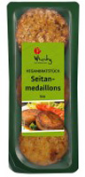 Topas Wheaty Seitan Medallions Organic