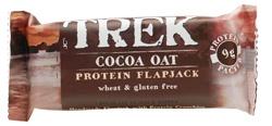 Trek Cocoa Oat Protein Flapjack