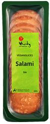 Topas Wheaty Vegan Salami Seitan Slices Organic