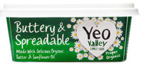 Yeo Valley Spreadable Butter Organic 250g