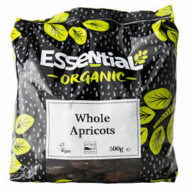 Essential Apricots Whole Organic 500g