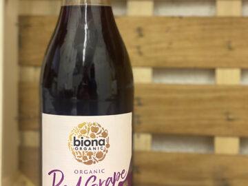 Biona Red Grape Pressed Juice Organic