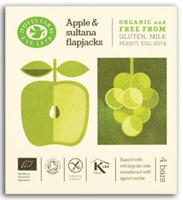 Doves Farm Apple Oat Bars with Sultanas Organic (X4)