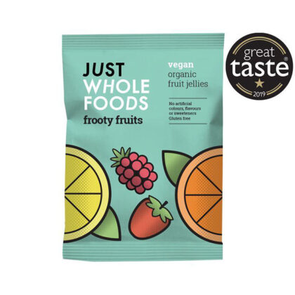 Just Wholefoods VegeBear's Frooty Fruits Organic