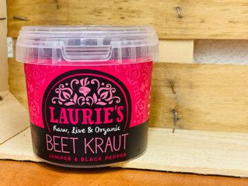 Laurie's Beetkraut Organic Juniper & Pepper