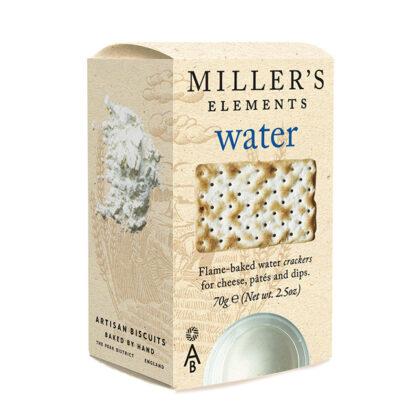 Miller's Elements Water Biscuits