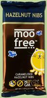 Moo Free Caramelised Hazelnuts Nibs Dairy Free Milk Chocolate