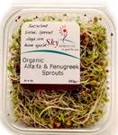 Sky Sprouts Organic Alfalfa & Fenugreek Sprouts