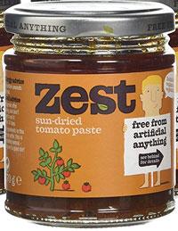 Zest Sun Dried Tomato Paste