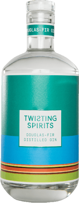 Twisting Spirits Douglas Fir Distilled Gin