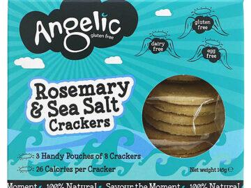 Angelic Rosemary & Sea Salt Crackers