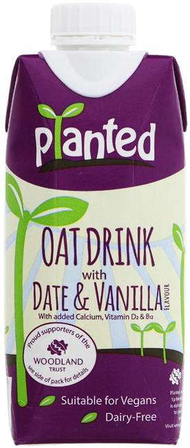 Planted Date & Vanilla Oat Drink