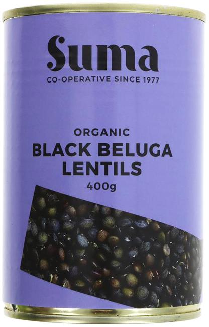Suma Black Beluga Lentils Organic