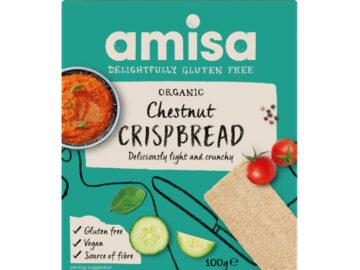 Amisa Chestnut Crispbread Organic