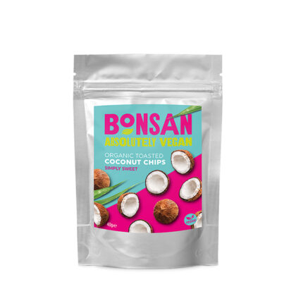 Bonsan Toasted Coconut Chips Simply Sweet Organic