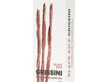 Seggiano Black Rice Grissini
