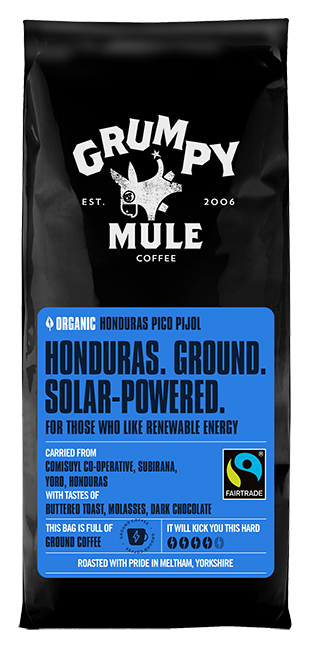 Grumpy Mule Honduras Ground Solar-Powered Organic