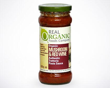 Real Organic Foods Company Mushroom & Red Wine Pasta Sauce