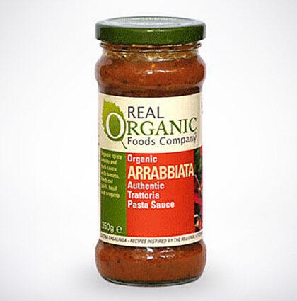 Real Organic Foods Company Arrabbiata Trattoria Pasta Sauce