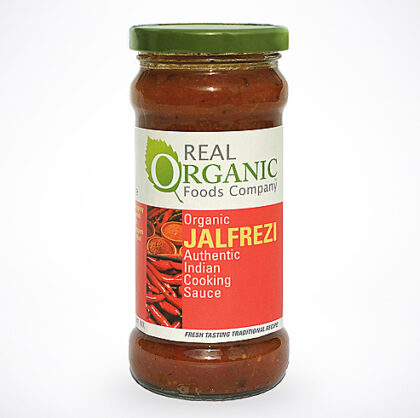 Real Organic Foods Company Jalfrezi Cooking Sauce