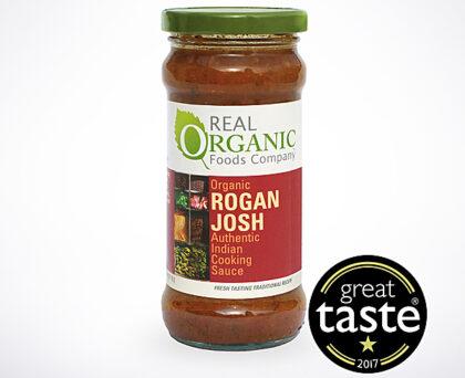 Real Organic Foods Company Rogan Josh Indian Cooking Sauce