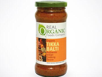 Real Organic Foods Company Tikka Balti Indian Sauce