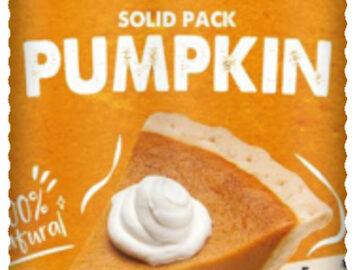 America's Finest Solid Pack Pumpkin