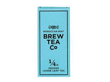 Brew Tea Co Moroccan Mint Proper Loose Leaf Tea