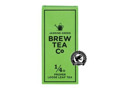 Brew Tea Co Jasmine Green Proper Loose Leaf Tea
