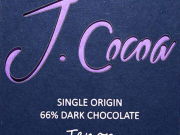 J.Cocoa Tenor 71% Dark Chocolate