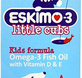 Eskimo-3 Little Cubs Omega-3 Fish Oil With Vitamin D & E Tutti-Frutti 210ml