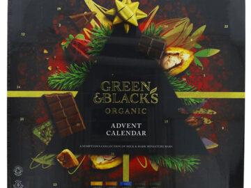 Green & Black's Milk & Dark Chocolate Advent Calendar Organic