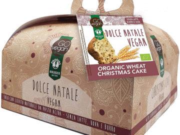 Probios Go Vegan Christmas Panettone With Agave Syrup Organic