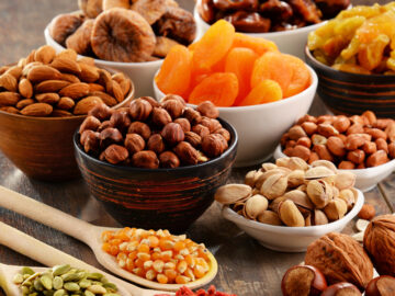 Dried Fruits, Nuts, Grains, Pulses & Rice