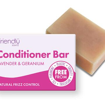 Friendly Conditioner Bar Lavender & Geranium