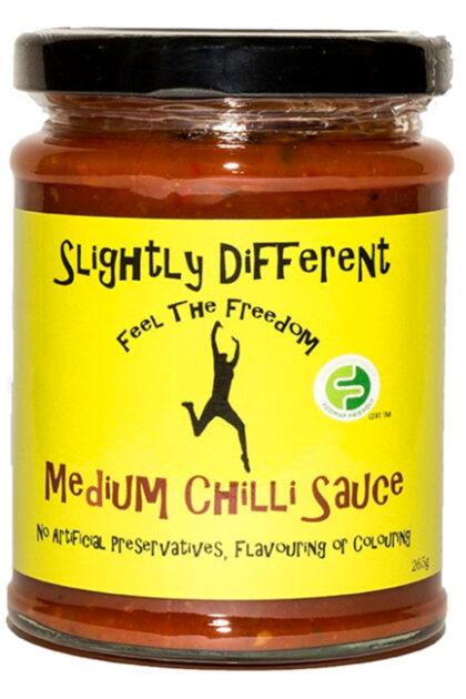 Slightly Different Medium Chilli Sauce