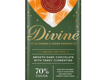 Divine Smooth Dark Chocolate With Tangy Clementine
